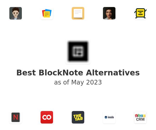 Best BlockNote Alternatives