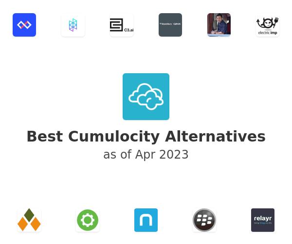 Best Cumulocity Alternatives