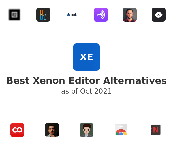 Best Xenon Editor Alternatives