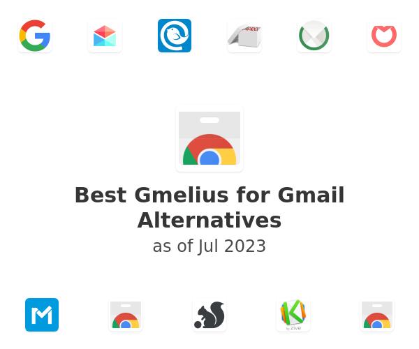 Best Gmelius for Gmail Alternatives