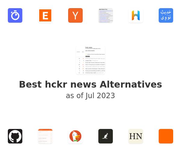 Best hckr news Alternatives
