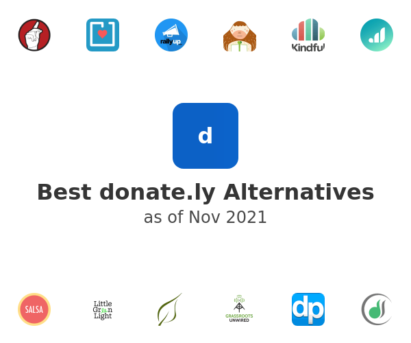 Best donate.ly Alternatives