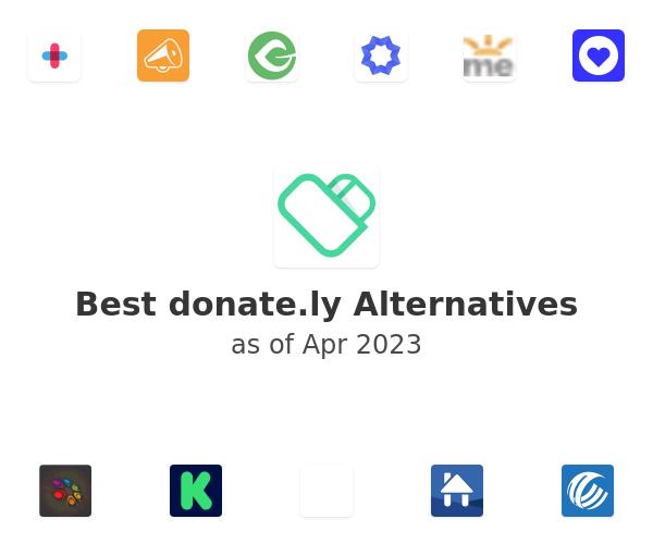 Best donate.ly Alternatives