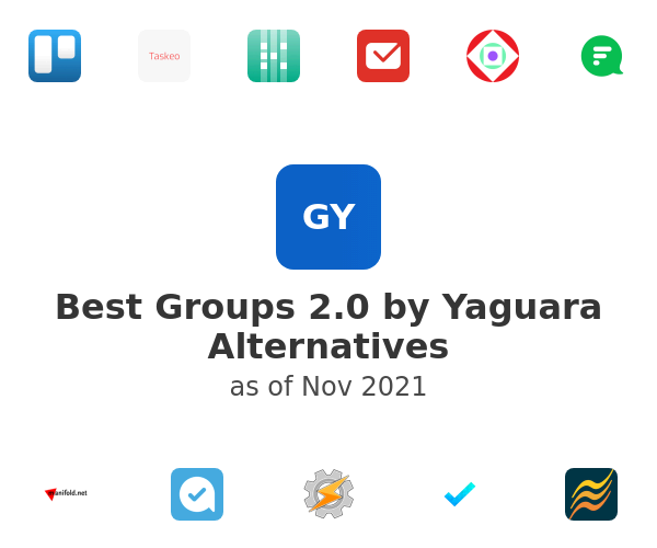 Best Groups 2.0 by Yaguara Alternatives