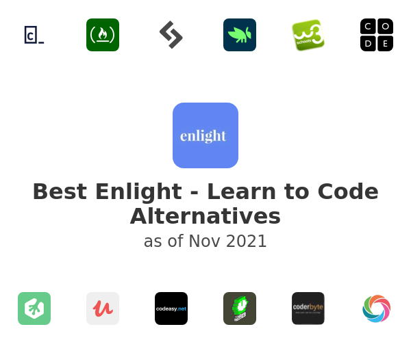 Best Enlight - Learn to Code Alternatives