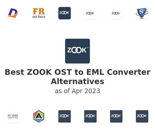 Best ZOOK OST to EML Converter Alternatives