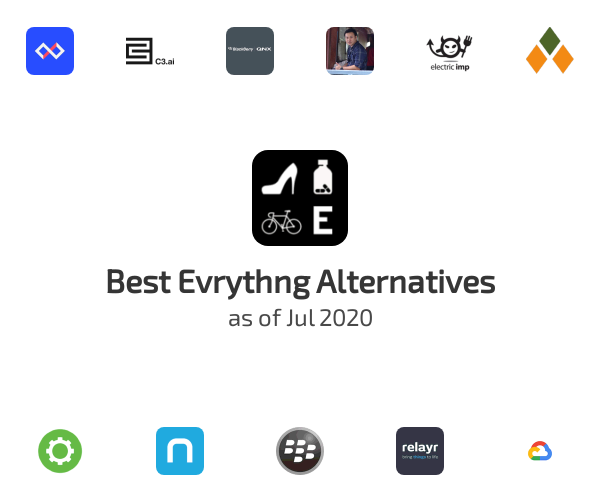 Best Evrythng Alternatives