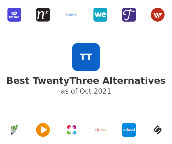Best TwentyThree Alternatives
