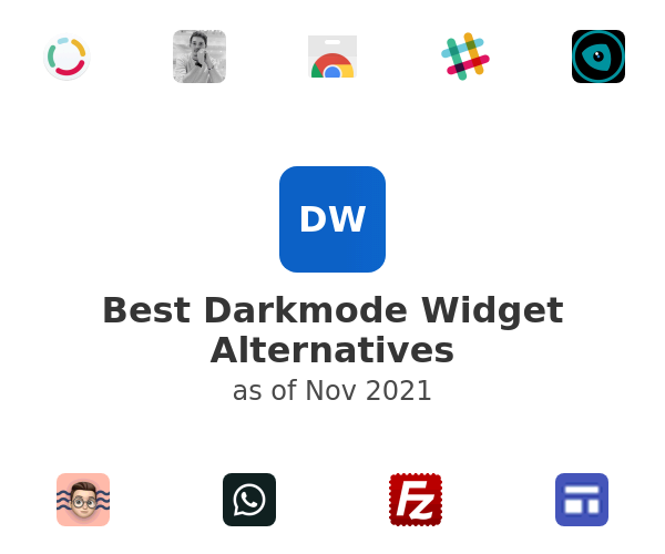 Best Darkmode Widget Alternatives