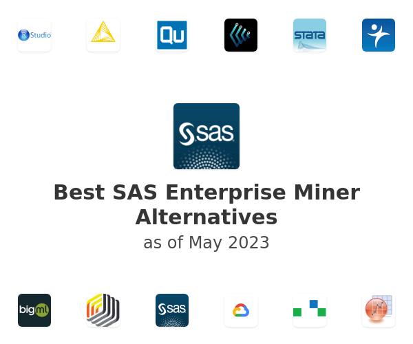 Best SAS Enterprise Miner Alternatives