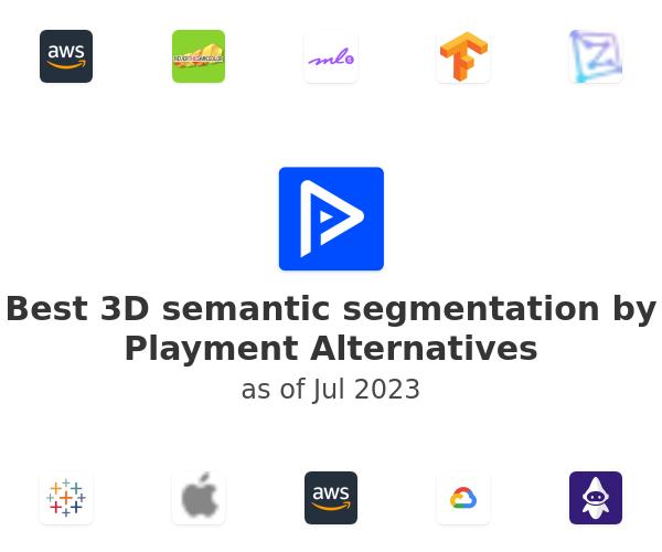 Best 3D semantic segmentation by Playment Alternatives