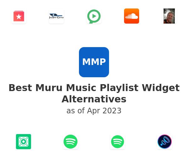 Best Muru Music Playlist Widget Alternatives