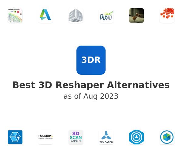 Best 3D Reshaper Alternatives