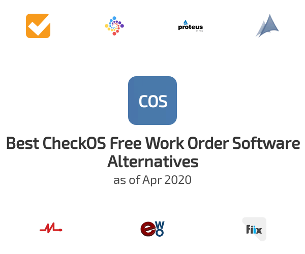 Best CheckOS Free Work Order Software Alternatives