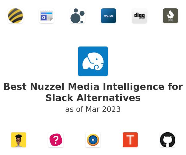 Best Nuzzel Media Intelligence for Slack Alternatives