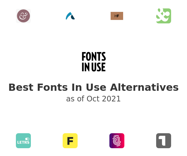 Best Fonts In Use Alternatives