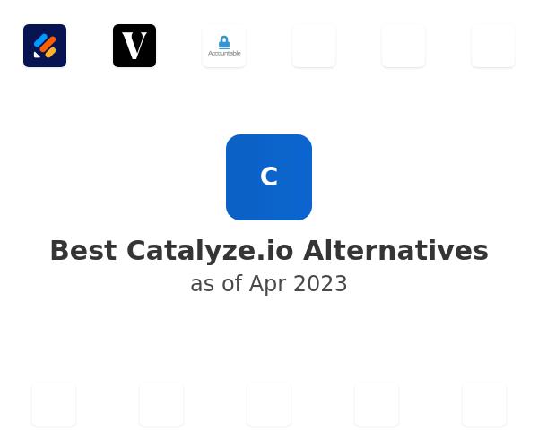 Best Catalyze.io Alternatives