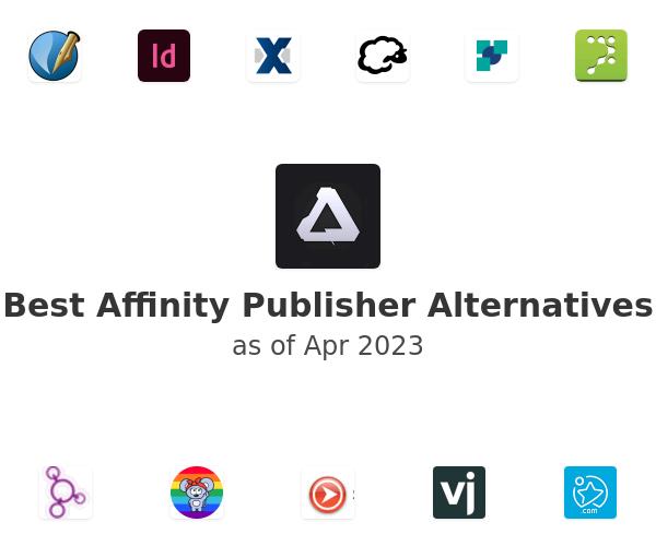 Best Affinity Publisher Alternatives
