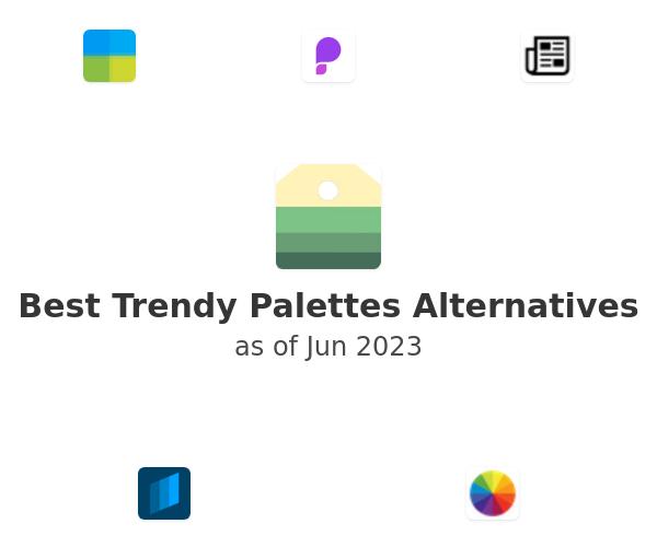 Best Trendy Palettes Alternatives