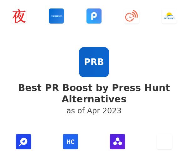 Best PR Boost by Press Hunt Alternatives