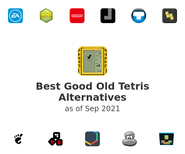 Best Good Old Tetris Alternatives