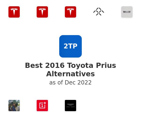 Best 2016 Toyota Prius Alternatives