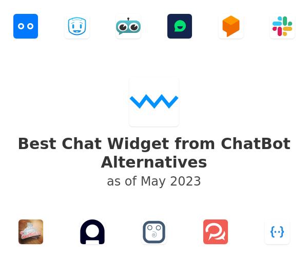 Best Chat Widget from ChatBot Alternatives