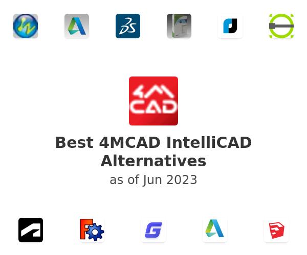 Best 4MCAD IntelliCAD Alternatives