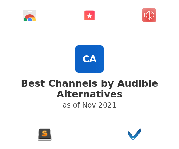Best Channels by Audible Alternatives