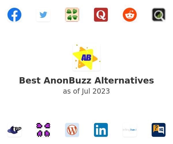 Best AnonBuzz Alternatives