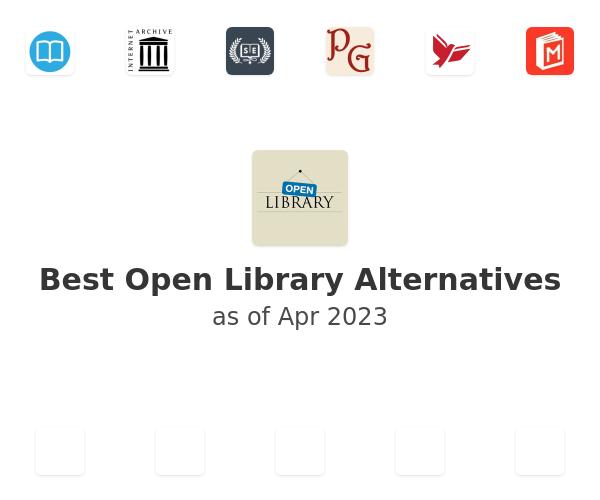 Best Open Library Alternatives