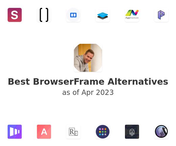 Best BrowserFrame Alternatives