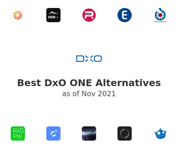 Best DxO ONE Alternatives