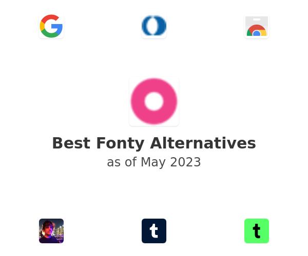 Best Fonty Alternatives