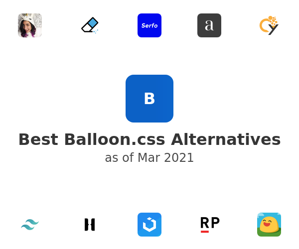 Best Balloon.css Alternatives