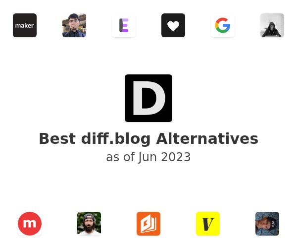 Best diff.blog Alternatives