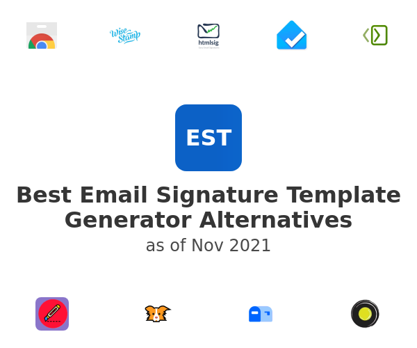 Best Email Signature Template Generator Alternatives