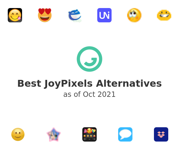 Best JoyPixels Alternatives