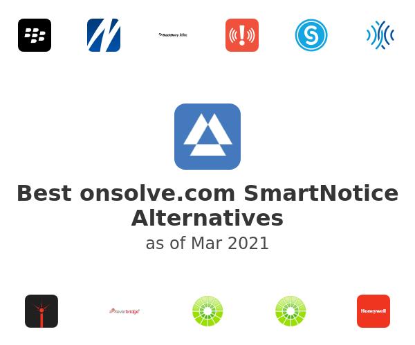Best onsolve.com SmartNotice Alternatives