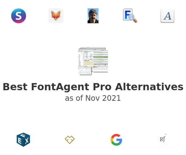 Best FontAgent Pro Alternatives
