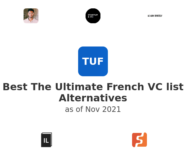 Best The Ultimate French VC list Alternatives