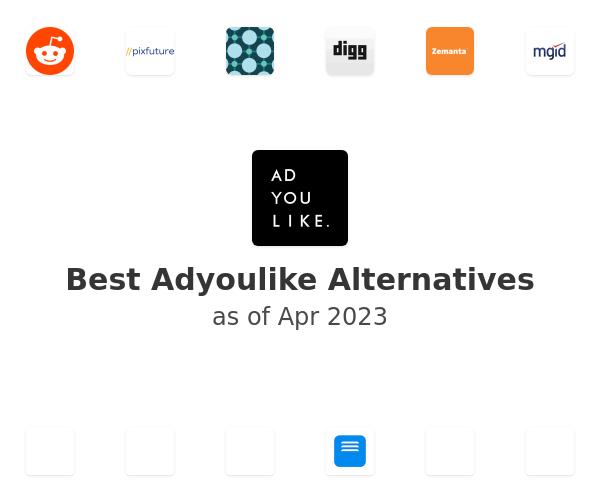 Best Adyoulike Alternatives