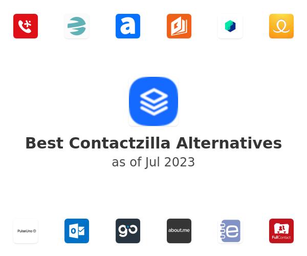 Best Contactzilla Alternatives