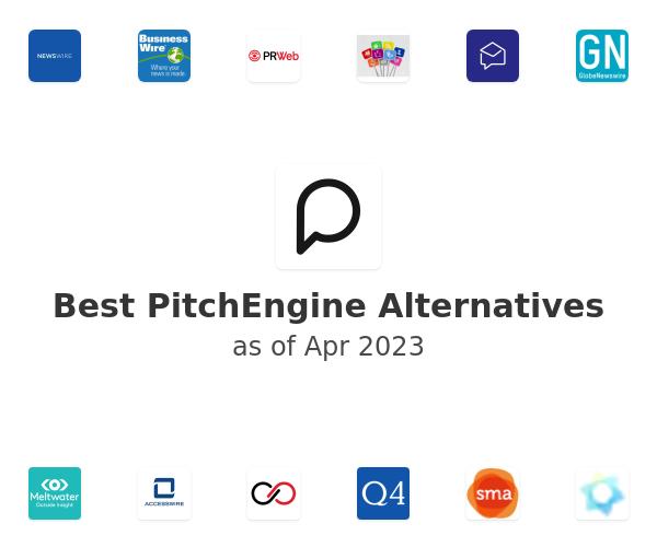 Best PitchEngine Alternatives
