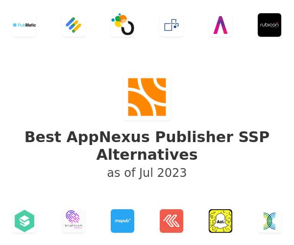 Best AppNexus Publisher SSP Alternatives