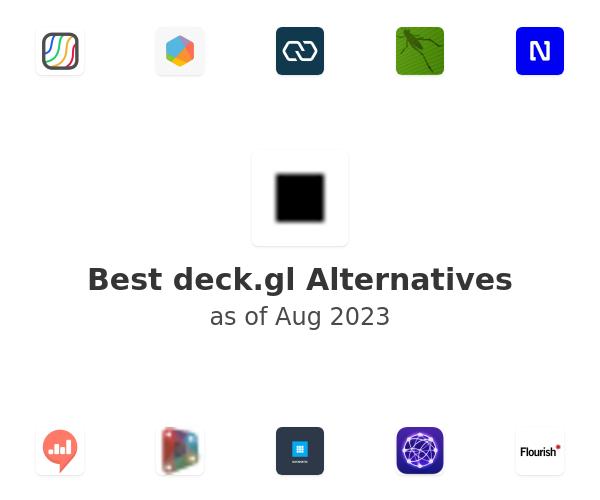 Best deck.gl Alternatives