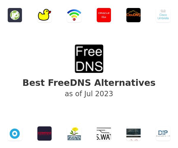 Best FreeDNS Alternatives