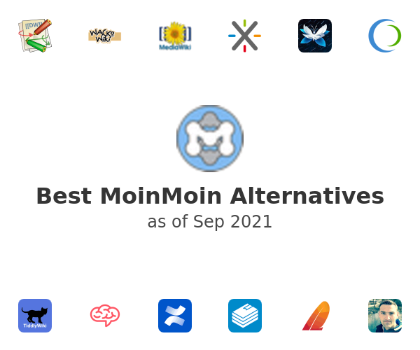 Best MoinMoin Alternatives