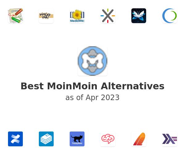 Best MoinMoin Alternatives