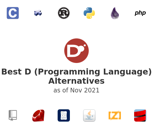 Best D (Programming Language) Alternatives